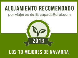 Casa Rural Ecológica Kaaño Etxea, alojamiento rural recomendado en Navarra (Arrarats)