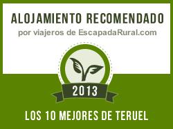 Masía Collado Royo, alojamiento rural recomendado en Teruel (Olba)