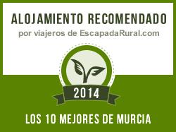Caserío molino del Camino, alojamiento rural recomendado en Murcia (Moratalla)