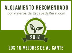 La Xaquera, alojamiento rural recomendado en Alicante (Busot)