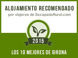 Masia Can Ros, alojamiento rural recomendado en Girona (Cistella)