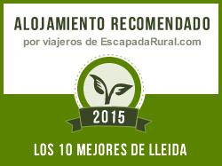 Ca l'Olier, alojamiento rural recomendado en Lleida (Montblanquet)