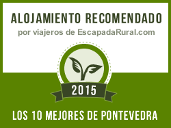 Casas Baltar I y II, alojamiento rural recomendado en Pontevedra (Cambados)