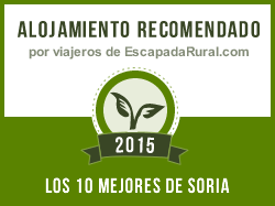 La Arboleda, alojamiento rural recomendado en Soria (Noviercas)