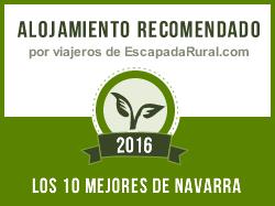 Casa Rural Erbioz, alojamiento rural recomendado en Navarra (Lezáun)