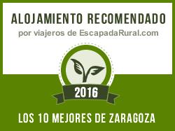 Rincón del Cierzo, alojamiento rural recomendado en Zaragoza (Lécera)