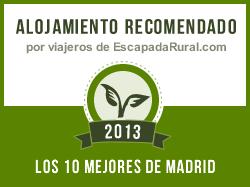 Casa Zarzal, alojamiento rural recomendado en Madrid (Zarzalejo)